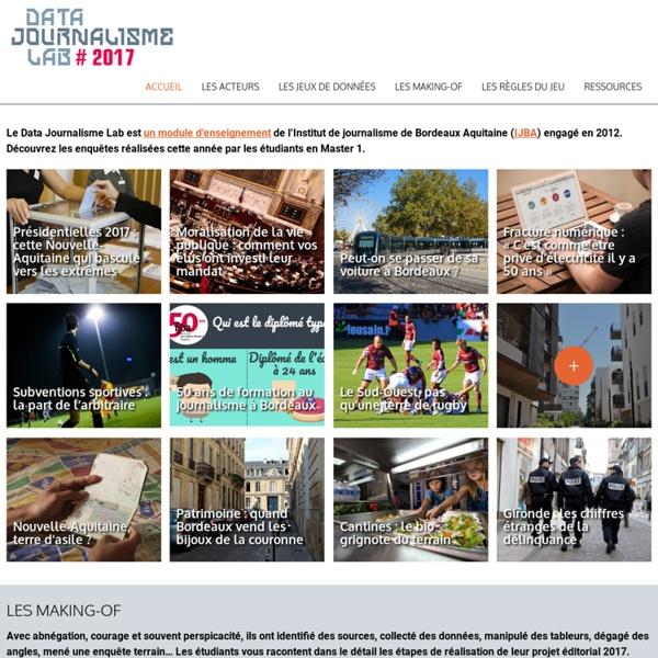 Datajournalismelab