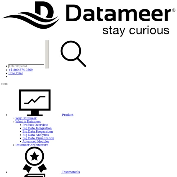 Datameer - Big Data and Hadoop Analytics