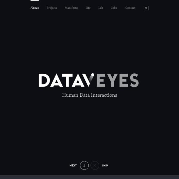 Dataveyes est une start-up de visualisations interactives de données.