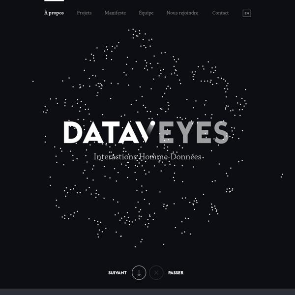 Human Data Interactions