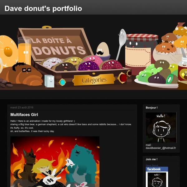 Dave donut's portfolio
