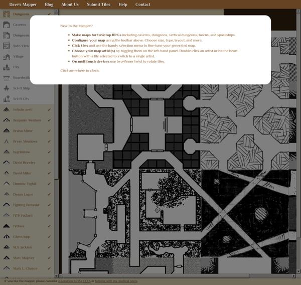 RPG Map Generator