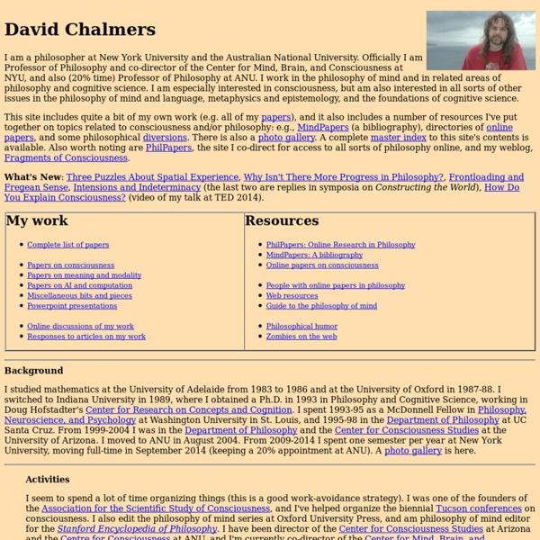 David Chalmers