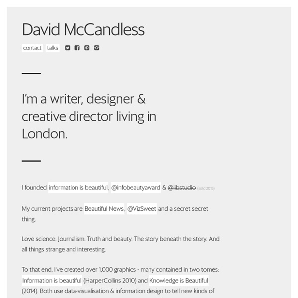 David McCandless