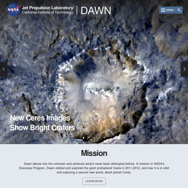 Dawn Mission: Dawn - Home Page