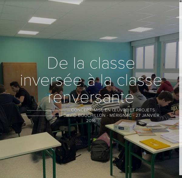De la classe inversée à la classe renversante