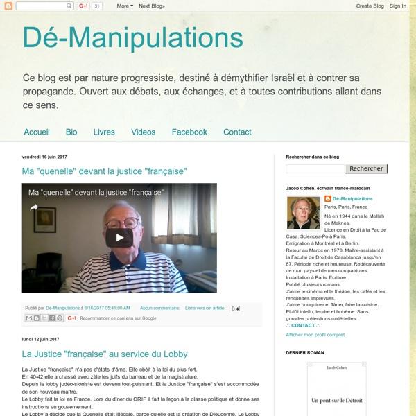 Dé-manipulations