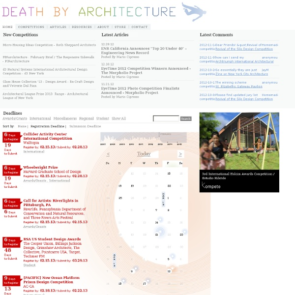 Death by Architecture