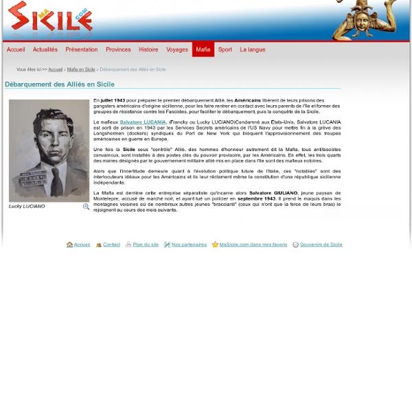Juillet 1943 : Débarquement des alliés en Sicile