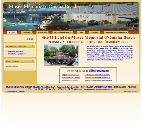 Musée du Débarquement d'Omaha Beach
