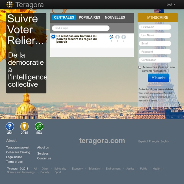 Debates and exchange of ideas Teragora