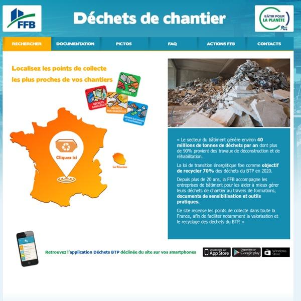 Déchets de chantier du bâtiment : tri des déchets. : FFB - Déchets de chantier