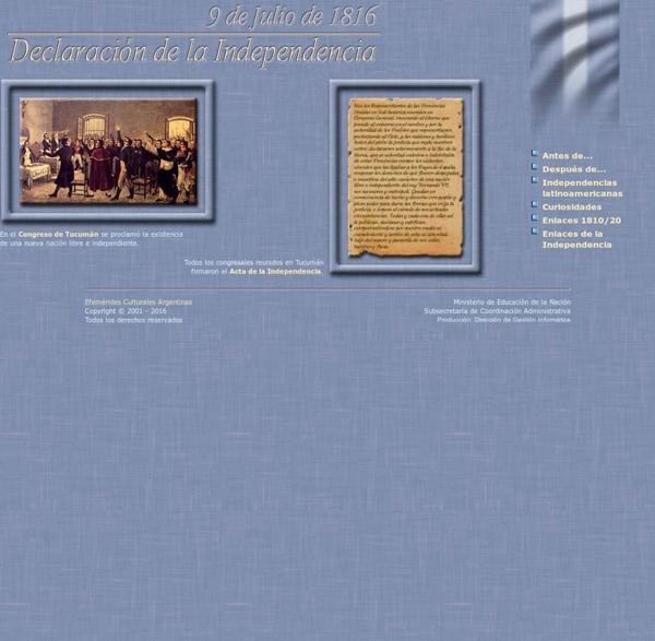 9 de Julio: Declaración de la Independencia