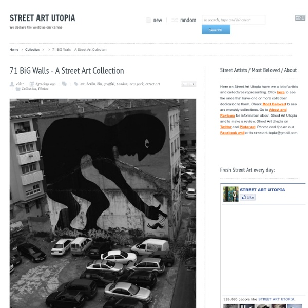 71 BiG Walls – A Street Art Collection