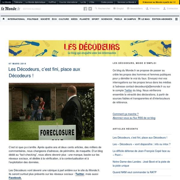 Fact-checking participatif, par LeMonde.fr