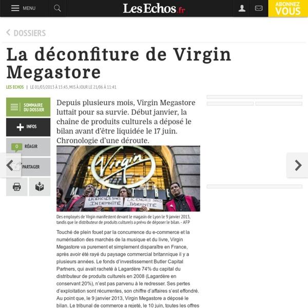 La déconfiture de Virgin Megastore