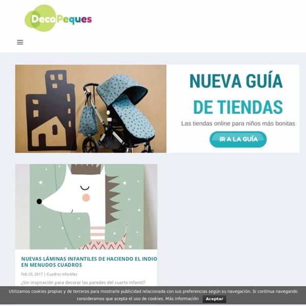 Decoración Infantil, Ideas Decoración Niños y Bebés. DecoPeques.