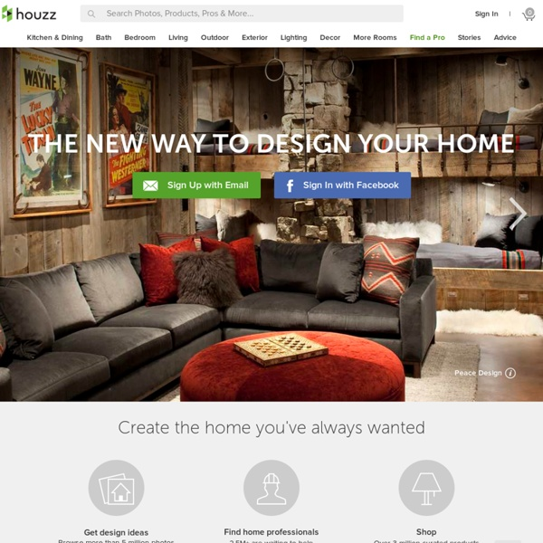 Houzz Home Design Ideas: Home Design, Decorating And Remodeling Ideas And