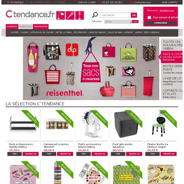 Décoration design C'tendance : Derrière la porte, Mastrad, Amadeus, Bruit de cadre, Umbra