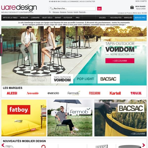 Meuble Design : Mobilier, Décoration, Luminaire, Jardin - UareDesign
