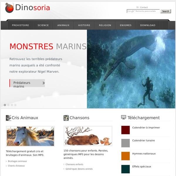 Monde Animal et dinosaures en Images. Histoire, climat et environnement de la Terre.