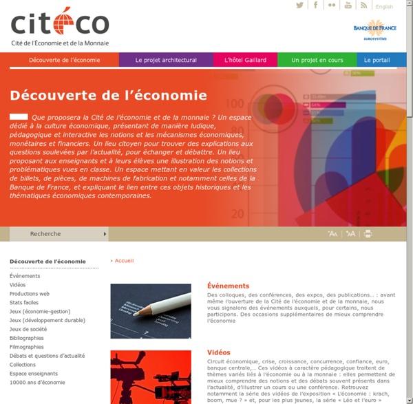 Découverte de l'économie - Cité de l'Économie et de la Monnaie