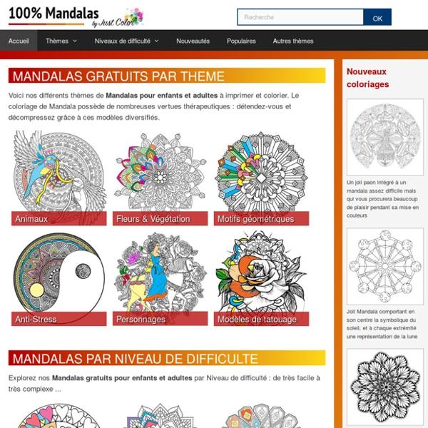 Découvrez nos Mandalas gratuits à imprimer et colorier
