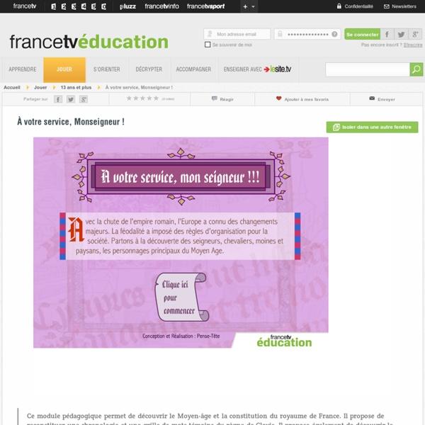 Découvrir le Moyen-âge et la constitution du royaume de France - fr...