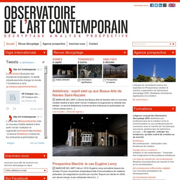 Observatoire de l'art contemporain