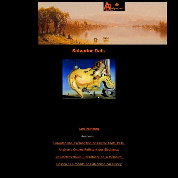 Dali Salvador,analyse,décryptage,décodage du style,des oeuvres,des toiles et tableaux,biographie,sa vie,son évolution.