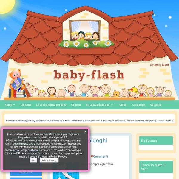Baby-flash - Sito per bambini e insegnanti di sostegnoBaby-flash