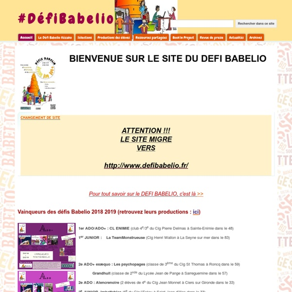 #DéfiBabelio