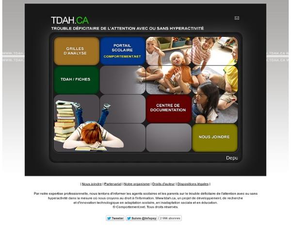 TDAH: le trouble déficitaire de l'attention avec ou sans hyperactivité