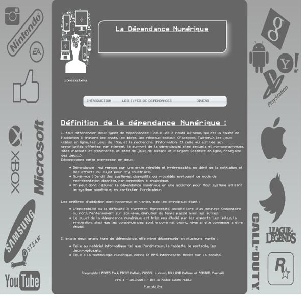 Definition - La Dépendance Numérique