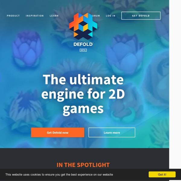 Defold: Free 2D Game Engine for Cross-Platform Publishing