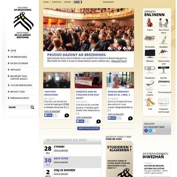 Office de la langue bretonne - Ofis Ar Brezhoneg
