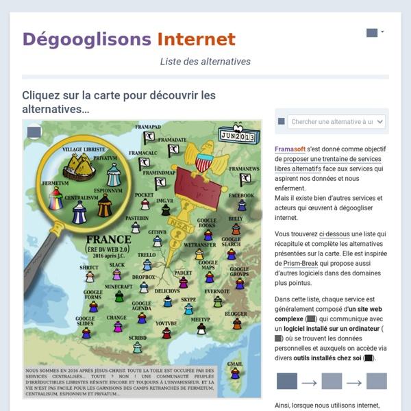 Dégooglisons Internet