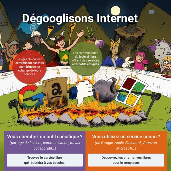 Dégooglisons Internet