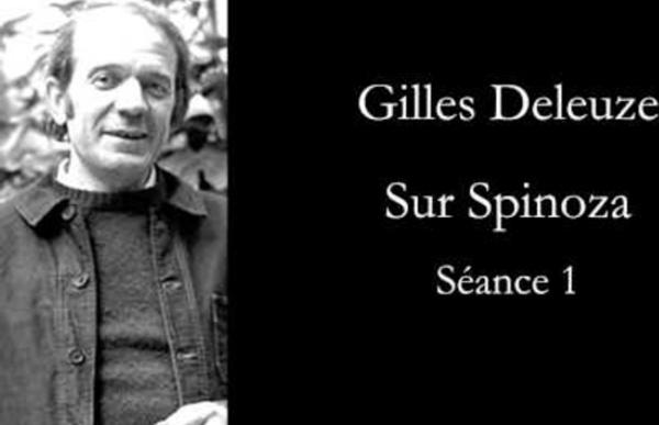Deleuze: Sur Spinoza, séance 1
