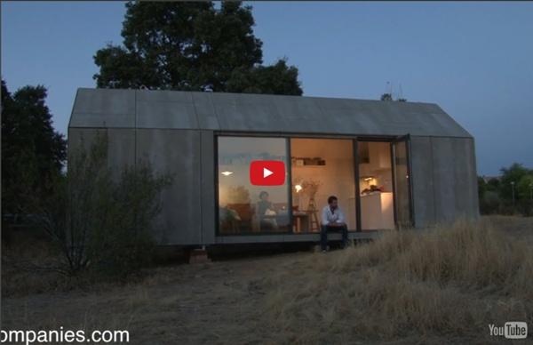 Portable home delivered as furniture, tailored as smartphone