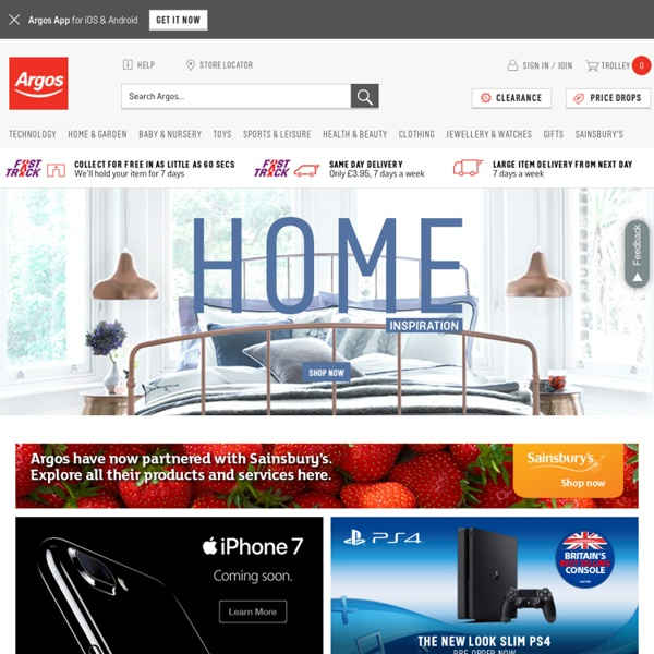 Home Shopping Online Part - 26: Shop Online With Argos.co.uk - Your Online Catalogue For Home Shopping