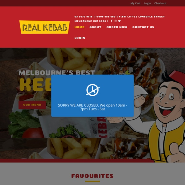 Are These The Best Kebabs in Melbourne?