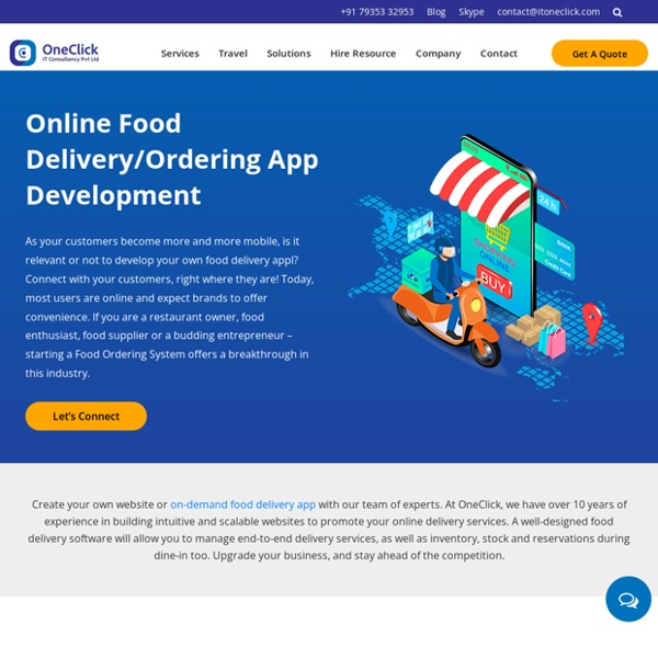 On demand food delivery app development cost