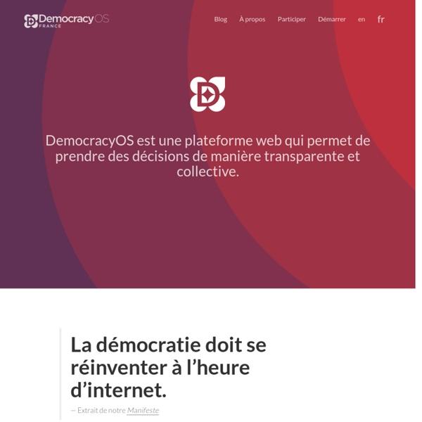 Democracy OS France.