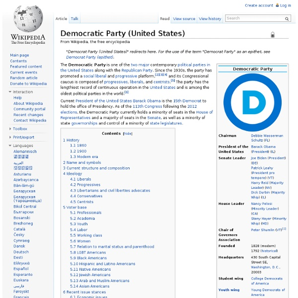 Democratic Party (United States)