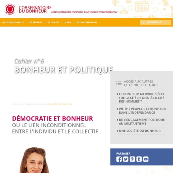La démocratie participative redéfinit le bonheur collectif
