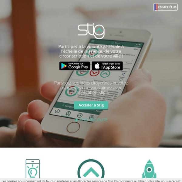 Stig - l'app de démocratie participative