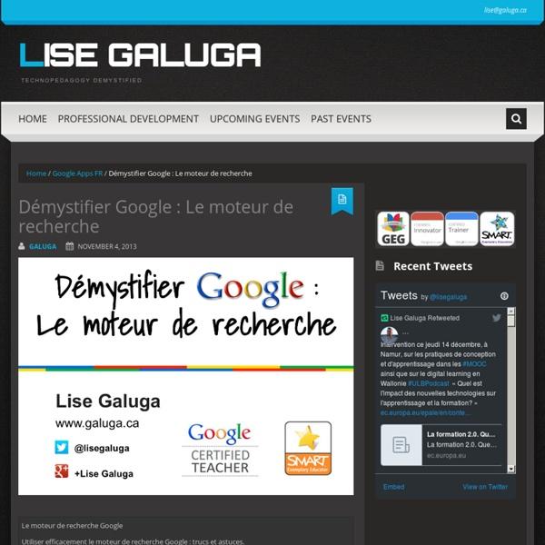 Démystifier Google : Le moteur de recherche