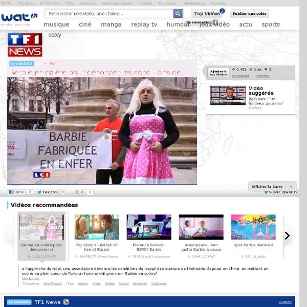 01 Vidéo Barbie dénoncer les conditions de travail