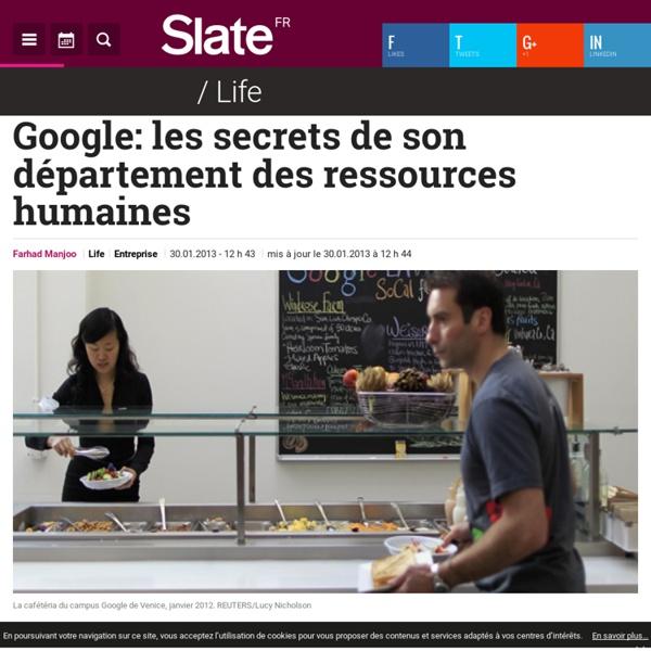 Google: les secrets de son département des ressources humaines
